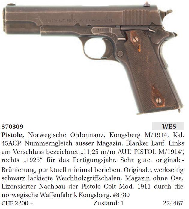Kongsberg Colt - 1911Forum