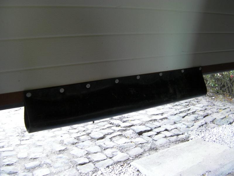 Aménagement Du Garage - Bas de porte de garage caoutchouc