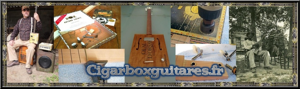 Cigar Box Guitares