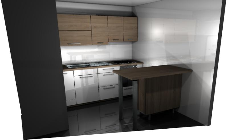 Meubles de cuisine meubles de cuisines - Hauteur entre plan de travail et meuble haut ...