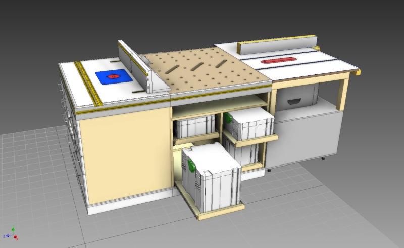 D fonceuse sous table tabli table d 39 assemblage brainstorming - Defonceuse sous table festool ...