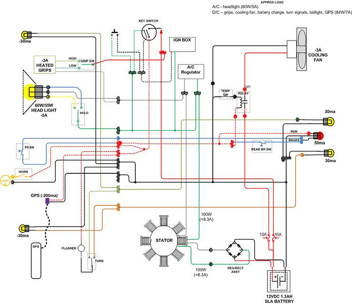 xrrele10 xr650r wiring diagram xr600r wiring diagram \u2022 wiring diagrams j nema 6 50r wiring diagram at soozxer.org