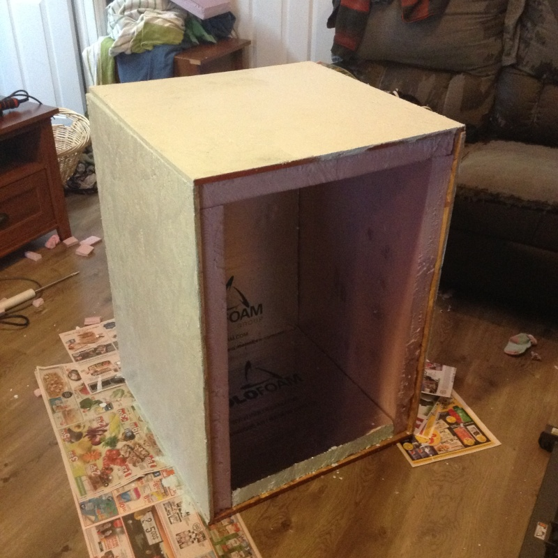Sehr Projet: Chambre froide avec un élément Peltier. YB89