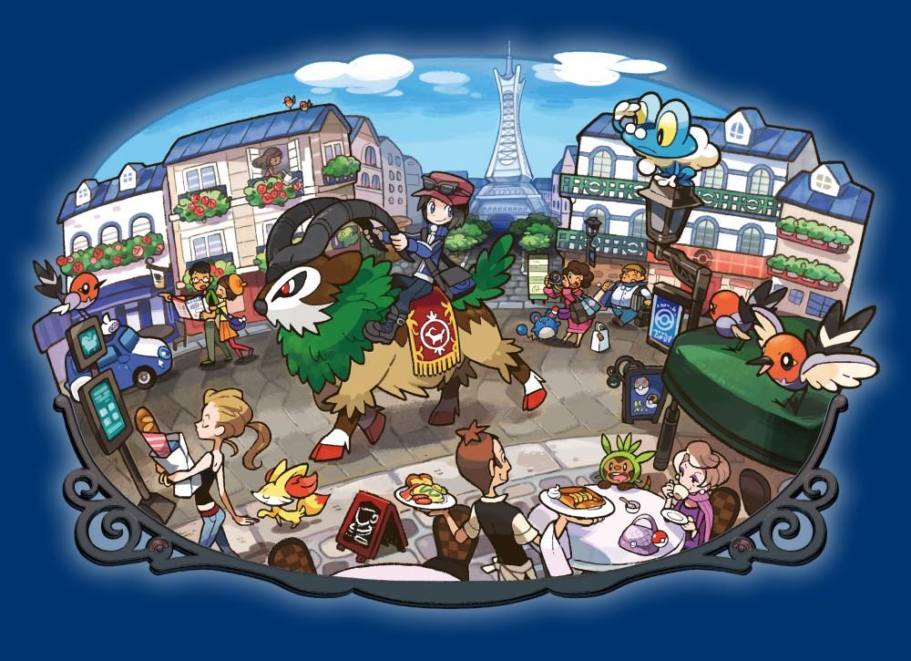 Ролевая игра по миру покемонов