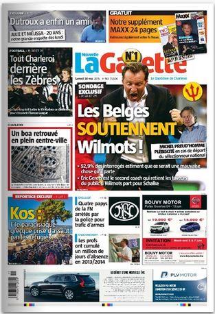 La nouvelle gazette du 30-05-2015 Belgique