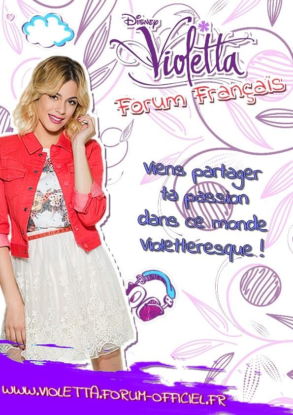 Tuto cr e tes goodies du forum violetta pour toi et tes - Carte violetta a imprimer ...