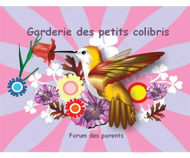 Garderie des petits colibris