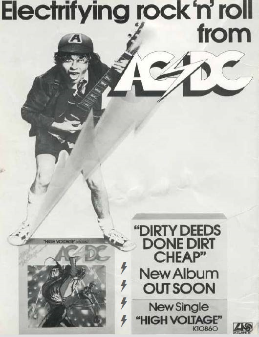 1976 - Dirty deeds done dirt cheap