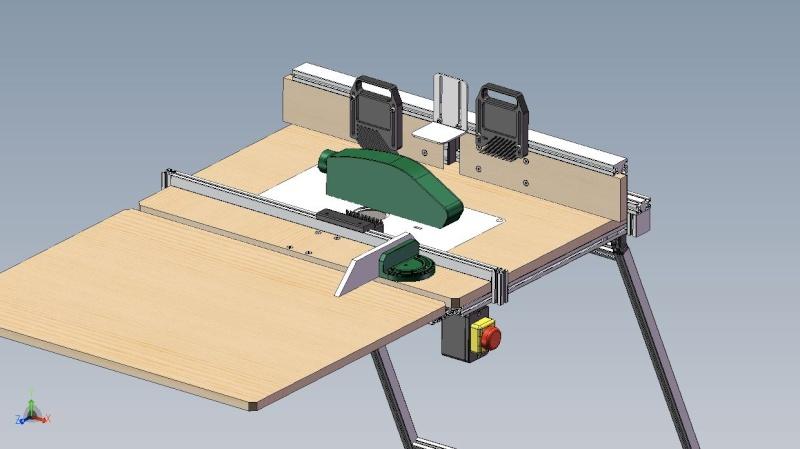 Electro portatifs sous table d 39 inspiration festool copain des copeaux - Defonceuse sous table festool ...