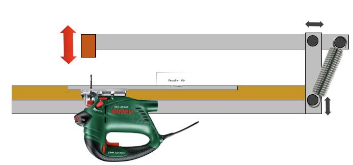 Electro portatifs sous table d 39 inspiration festool for Utiliser une scie sauteuse