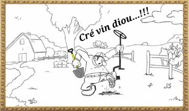 Cré Vin Diou !! Poêlage de Loisir