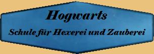 Hogwarts - Schule für Hexerei und Zauberei