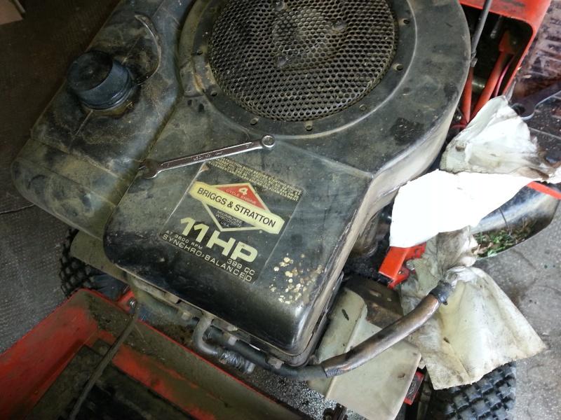 Schema Elettrico Trattorino Tagliaerba : Briggs stratton hp cc carburatore