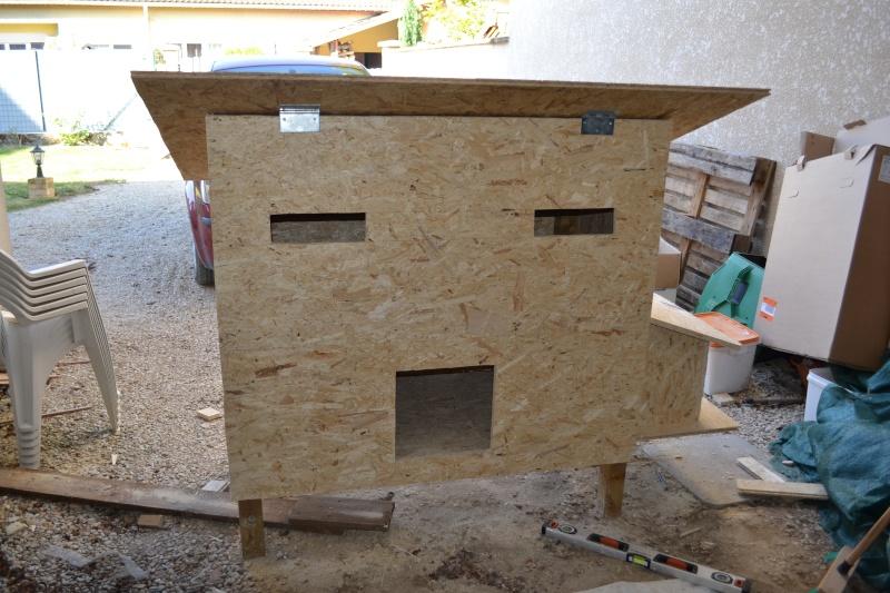 Poulailler en construction for Construction poulailler en dur