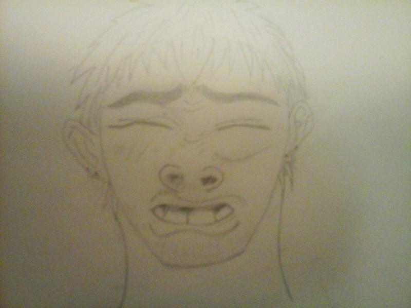 dessin manga face