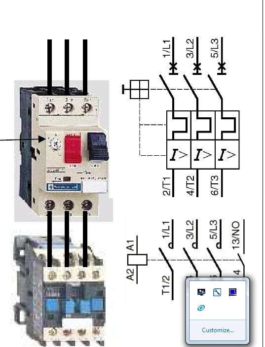 Disjoncteur moteur et disjonceur classique - Changer fusible disjoncteur ...