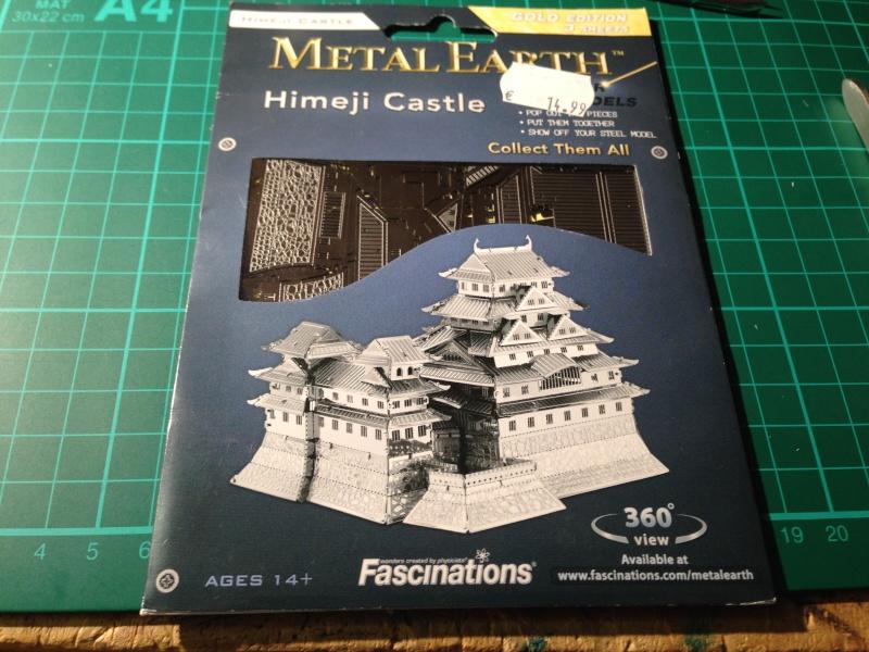 himeji castle metal earth. Black Bedroom Furniture Sets. Home Design Ideas
