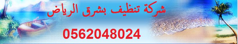 شركة تنظيف بشرق الرياض 0562048024