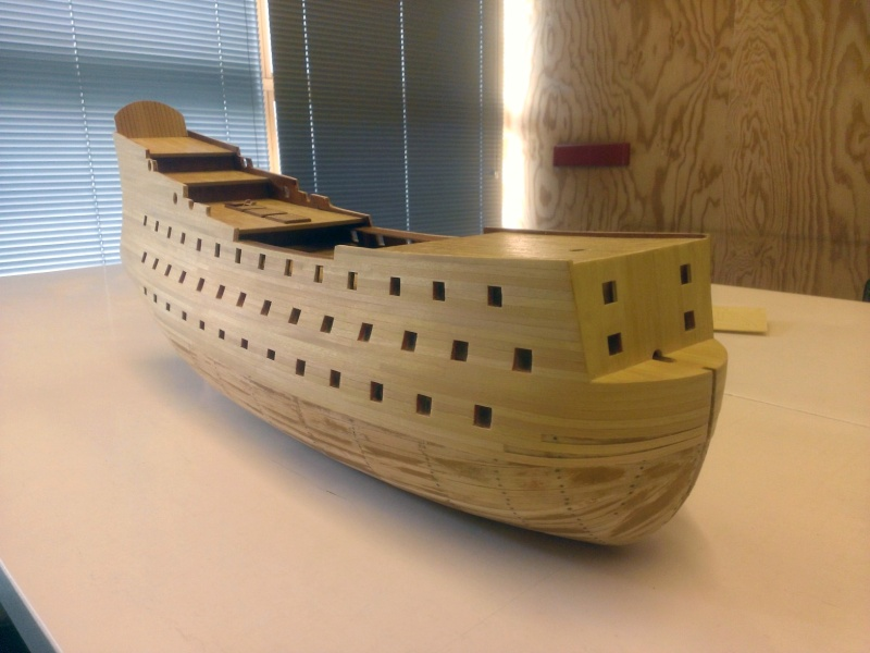 ancienne maquette de bateau royal louis